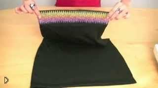 Смотреть онлайн Шьем юбку-карандаш за час