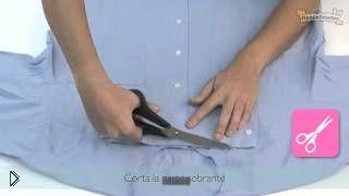 Как самостоятельно сшить тунику из мужской рубашки - Видео онлайн