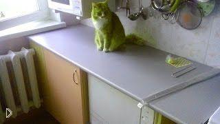 Смотреть онлайн Как сделать кухонный стол своими руками