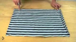 Смотреть онлайн Шьем топ с мини юбкой на лето без выкройки