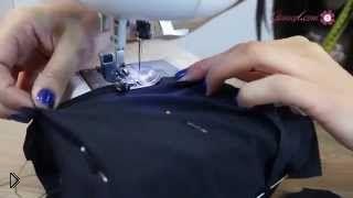 Смотреть онлайн Шьем простое платье с юбкой солнце без выкройки