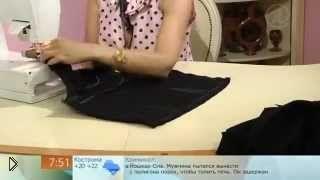 Смотреть онлайн Как сшить длиное черное платье Одри Хепберн