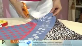 Как сшить летний сарафан из трех платков - Видео онлайн