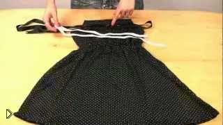 Как сшить простое платье быстро - Видео онлайн