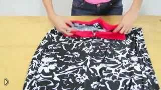 Смотреть онлайн Шьем платье на вечер без выкроек