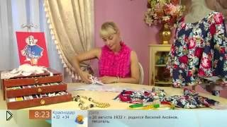Шьем без выкройки красивую круглую блузу - Видео онлайн