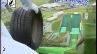 Смотреть онлайн Соревнование между шинами разных автомобилей