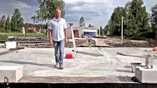 Смотреть онлайн Строительство дома из газобетона своими руками