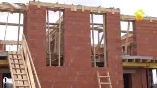 Смотреть онлайн Строительство дома из теплой керамики