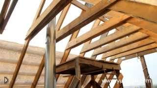 Смотреть онлайн Строительство крыши частного дома своими руками