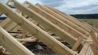 Смотреть онлайн Виды крыш частного загородного дома