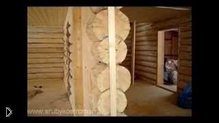 Смотреть онлайн Этапы внутренней отделки стен деревянного дома
