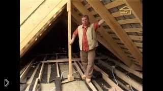 Смотреть онлайн Материалы для теплоизоляции крыши дома