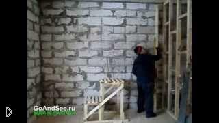 Смотреть онлайн Штукатурка стен своими руками по маякам
