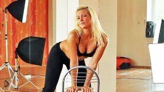 Смотреть онлайн Урок приватного танца в домашних условиях