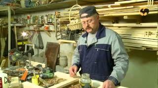 Смотреть онлайн Как сделать деревянный стеллаж своими руками