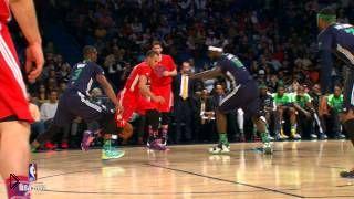 «Матч всех звезд НБА 2014». Лучшие моменты - Видео онлайн