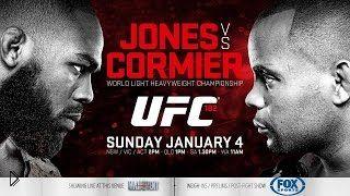 Смотреть онлайн Бой Джона Джонса против Даниэля Кормье 2015, UFC
