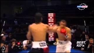 Смотреть онлайн Самые лучшие жёсткие нокауты в боксе