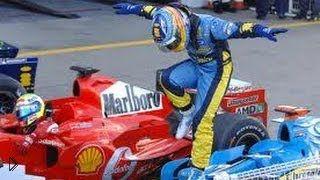 Смотреть онлайн Подборка лучших гонок Фернандо Алонсо в Формуле 1