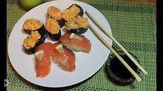 Смотреть онлайн Как сделать суши