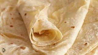 Смотреть онлайн Приготовление армянского лаваша на сковороде