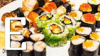 Смотреть онлайн Рецепт роллов и как правильно варить рис для суши