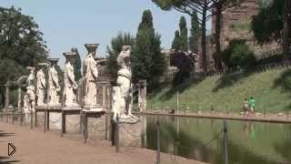 Смотреть онлайн Прогулка по вилле Адриана в Риме