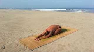 Смотреть онлайн Йога для лечения шейного и грудного остеохондроза