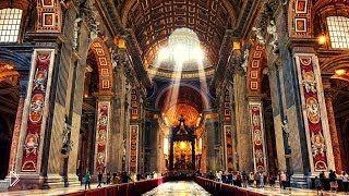 Смотреть онлайн Экскурсия по базилике Святого Петра в Ватикане