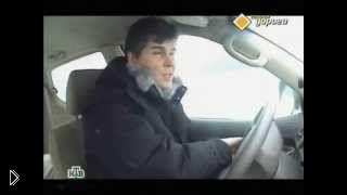 Смотреть онлайн Урок вождения в гололёд весной