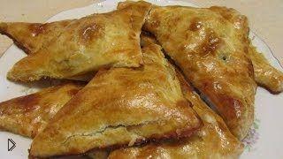 Смотреть онлайн Рецепт пирожков с грибами и куриной крудкой