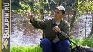 Смотреть онлайн Как оснастить болонскую удочку для лова на течении