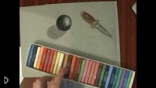 Смотреть онлайн Мастер класс техники рисования сухой пастелью