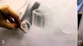 Смотреть онлайн Техника рисования штрихами