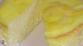 Смотреть онлайн Рецепт приготовления пышного омлета