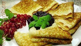 Смотреть онлайн Ажурные блинчики к завтраку