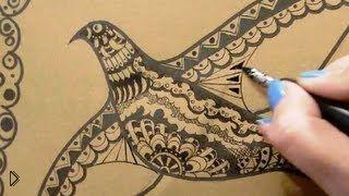 Смотреть онлайн Как нарисовать орнаменты и узоры поэтапно