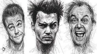 Смотреть онлайн Как нарисовать разные эмоции человека на лице