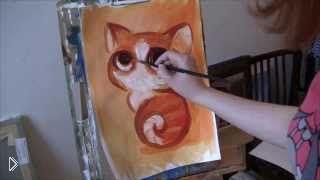Смотреть онлайн Как правильно пользоваться акриловыми красками