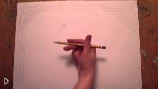 Смотреть онлайн Упражнение для рисования карандашом
