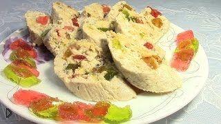 Смотреть онлайн Рецепт десерта из творога и мармелада