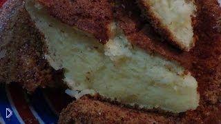 Смотреть онлайн Приготовление ванильного суфле на десерт