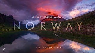 Смотреть онлайн Красивейшие пейзажи Норвегии