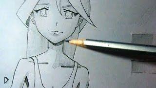 Смотреть онлайн Как правильно нарисовать тени карандашом
