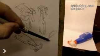 Смотреть онлайн Как научиться правильно делать наброски карандашом