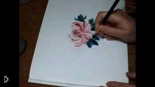 Смотреть онлайн Пошаговое обучение китайской росписи для начинающих