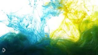 Смотреть онлайн Капли краски в воде: Utra HD