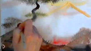 Смотреть онлайн Мастер класс: урок техника правополушарного рисования