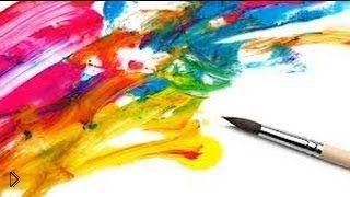 Смотреть онлайн Мастер класс: урок интуитивной живописи маслом